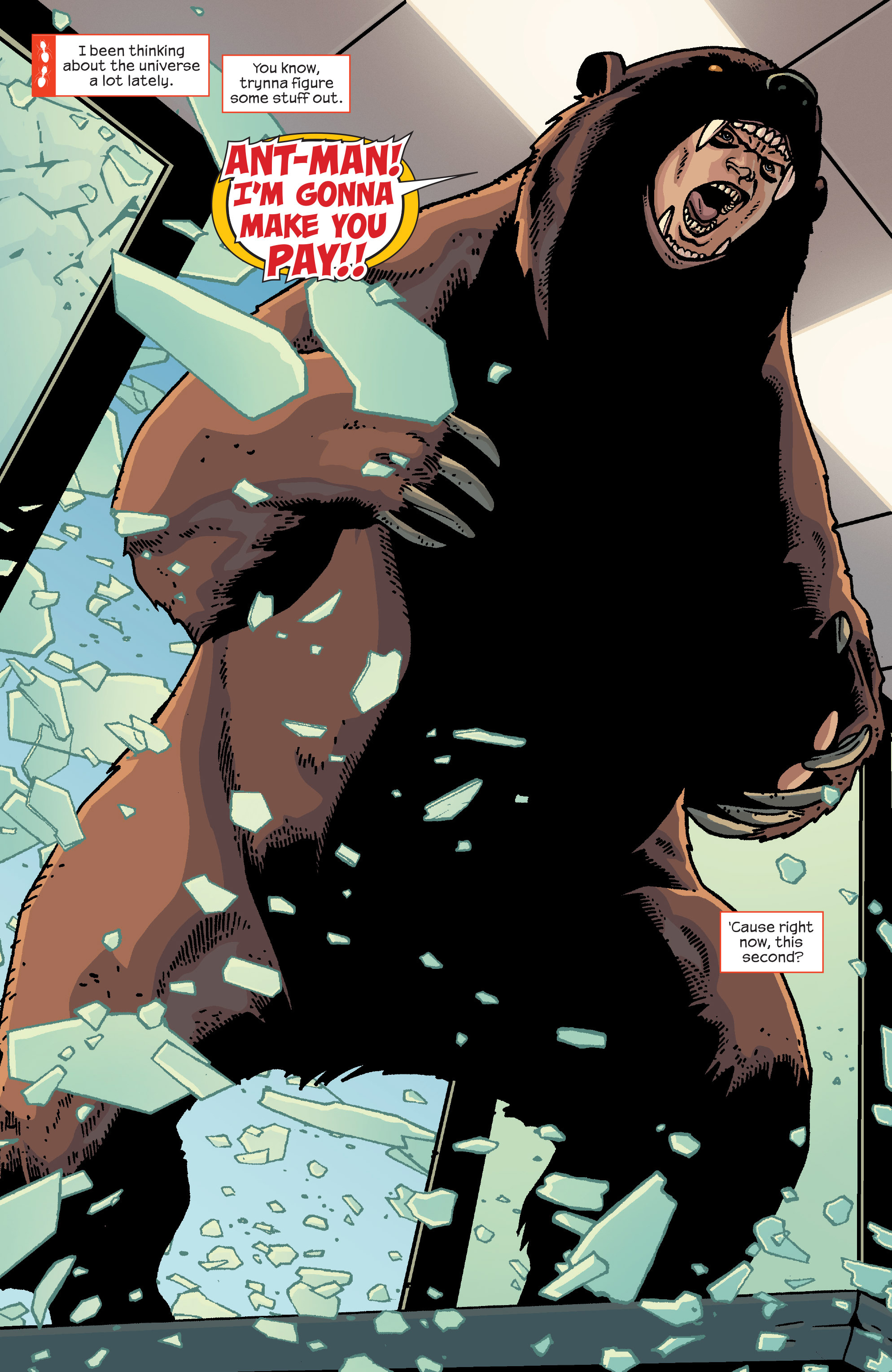 Read online Ant-Man comic -  Issue #2 - 3
