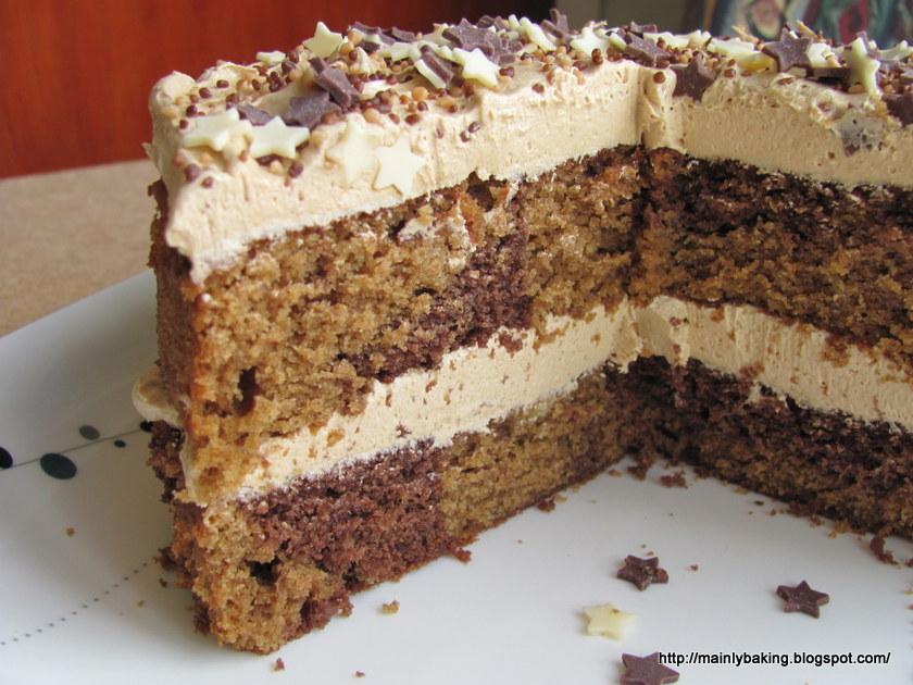 Sorted Food Sponge Cake