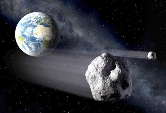 asteroide próximo da Terra