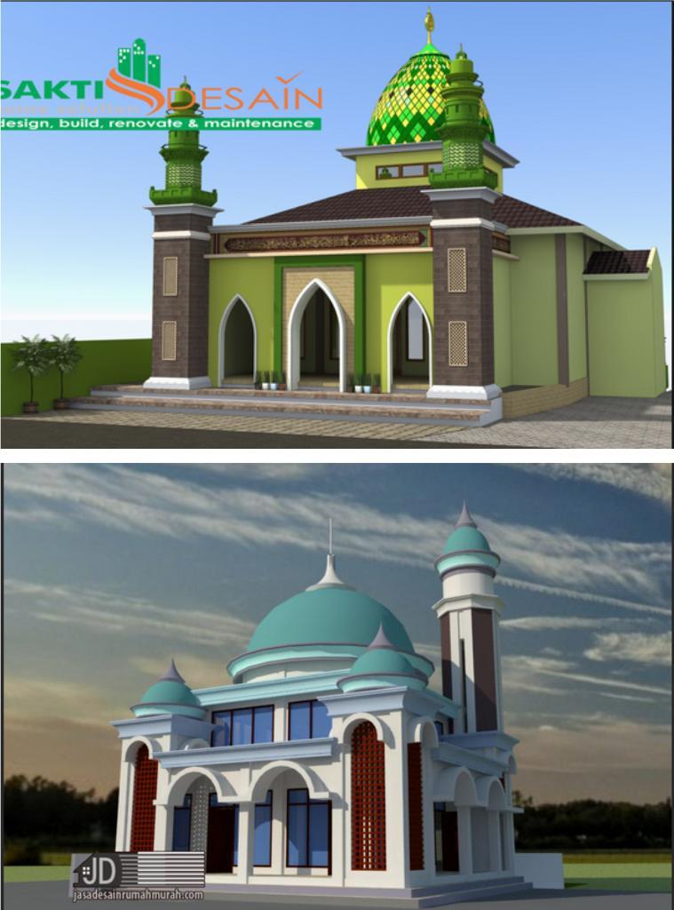 Ukuran Yang Ideal Untuk Kubah Masjid - KUBAH MASJID MODERN