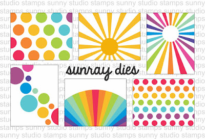 Sunny Studio Stamps: Introducing Sun Ray Die Set
