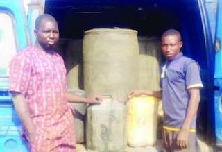 Ogun police nab six pipeline vandals