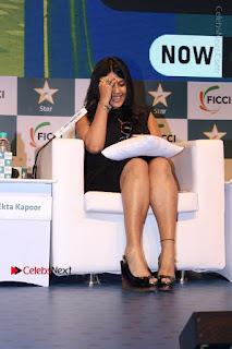 Ekta Kapoor Anurag Kashyap & Ramesh SippyAt at FICCI FRAMES 2017  0021.JPG