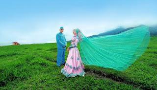 Prawedding/Pasca Wedding di Padang Mangateh