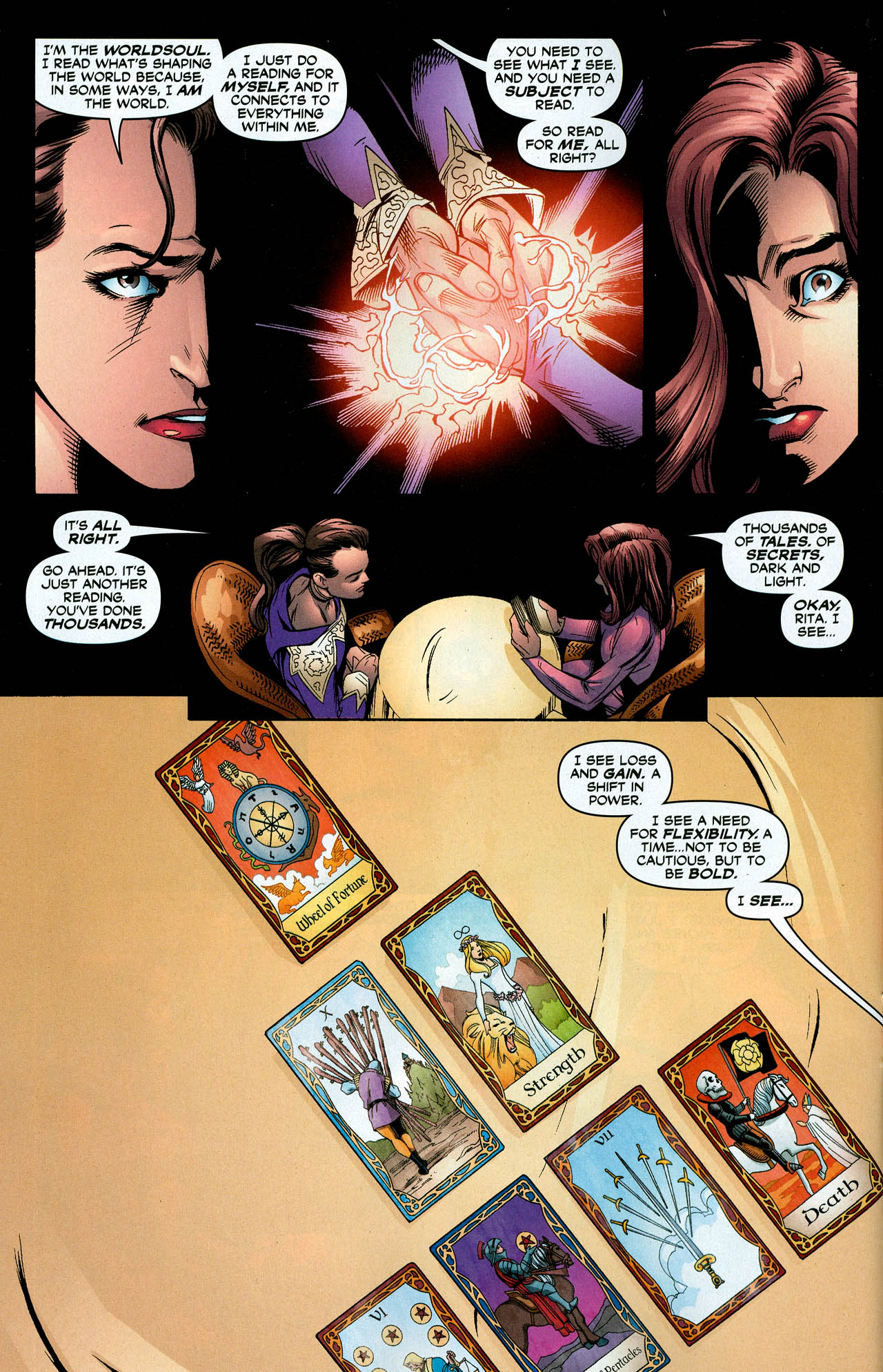 Read online Trinity (2008) comic -  Issue #29 - 13