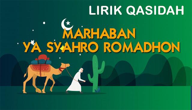 Lirik Lengkap Marhaban Ya Syahro Romadhon dengan Terjemah
