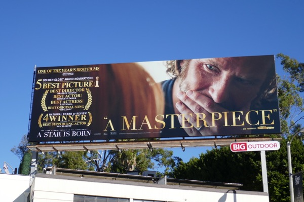 A Star is Born Masterpiece billboard