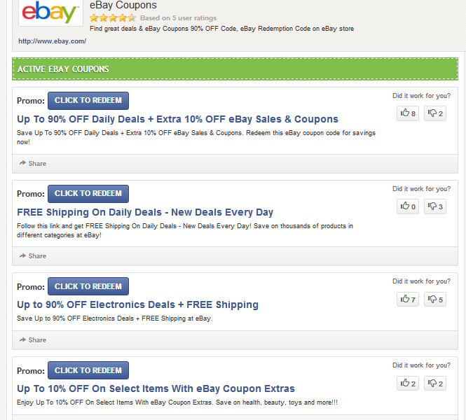 Ebay Coupon Code 2016 How To Find Discount Codes For Everything You Buy At Ebay Com
