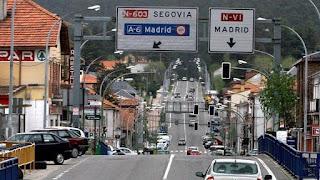 La travesía de San Rafael y la autopista AP-6 por Oscar de Diego