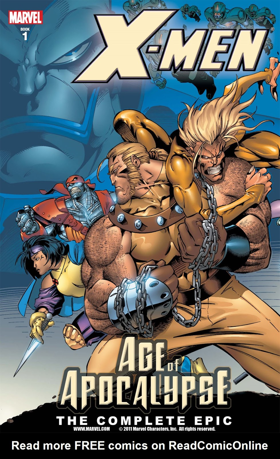 X-Men: The Complete Age of Apocalypse Epic issue TPB_1 - Page 1