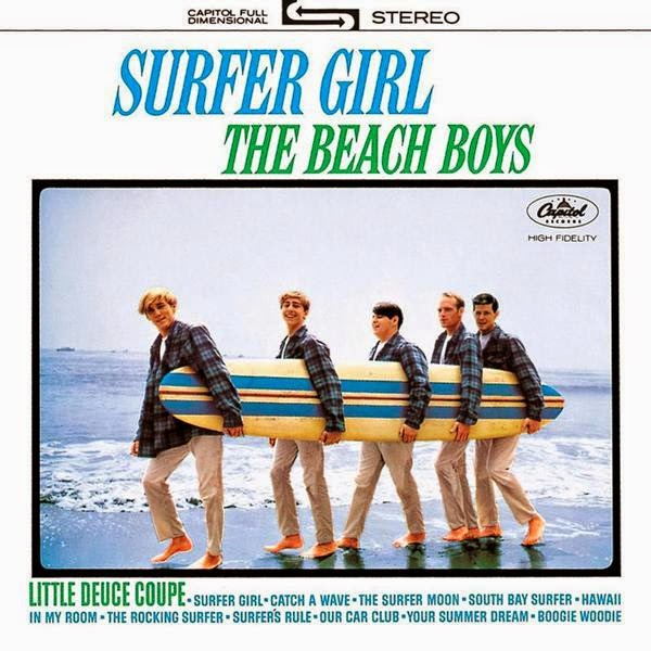 surfer girl the beach boys