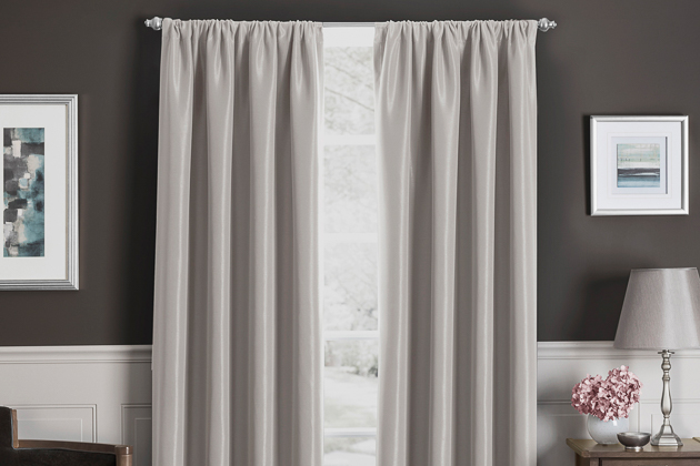 Black And White Swag Curtains Tab Top Valance Vertical Striped Shower Curtain Window