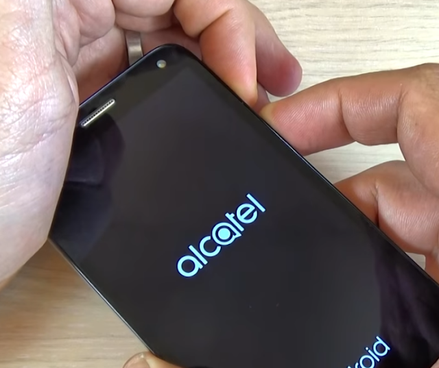 Restablecer un Alcatel POP 4