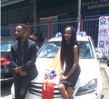 Lady Buys Brand New Mercedes Benz for Her Boyfriend