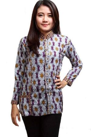 Model Baju Batik Wanita Modern 2017 Terlengkap | Contoh Batik