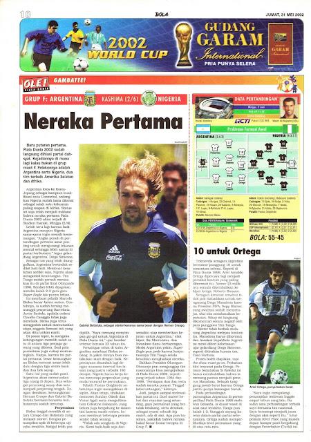 GAMBATTE!: GRUP F ARGENTINA VS NIGERIA NERAKA PERTAMA