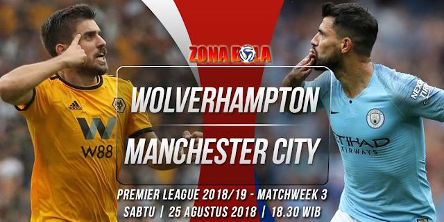 Prediksi Bola Wolverhampton vs Manchester City Liga Inggris