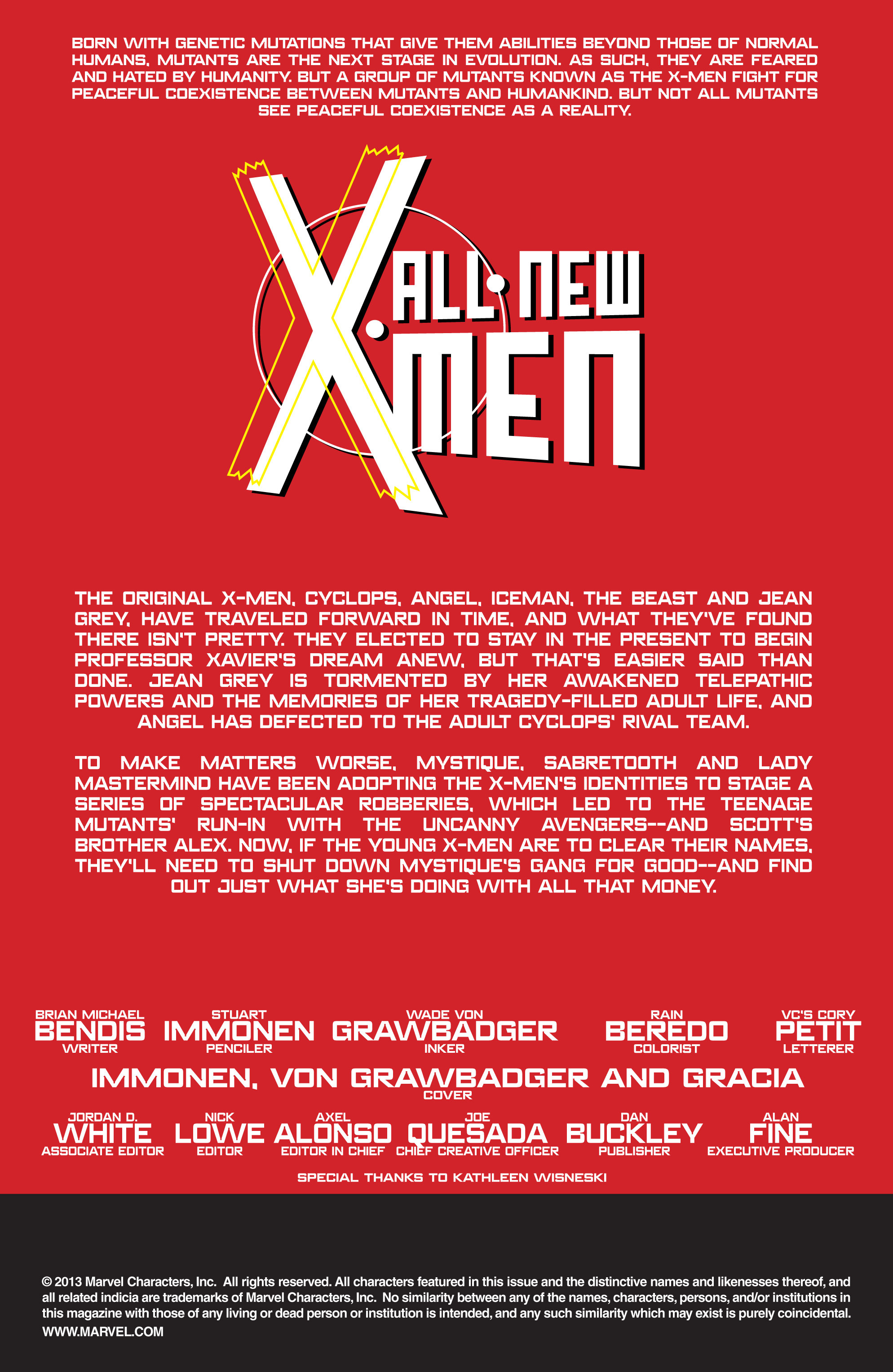 Read online All-New X-Men (2013) comic -  Issue # _Special - Out Of Their Depth - 49