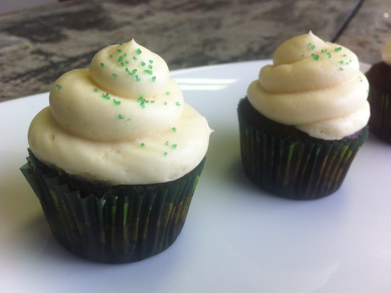So, you may or may not have noticed that I already have a recipe for Guinness, Jameson & Baileys cupcakes on the blog. This year I decided to change it up a bit and make a new, modified version of this crowd favorite.