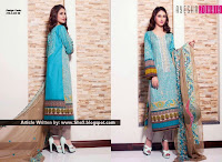 Ayesha Zohaib Premium Embroidered Lawn 2015 Collection