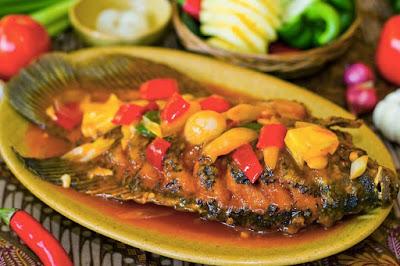 Gambar Resep Pesmol Ikan Mas Cianjur Paling Nikmat