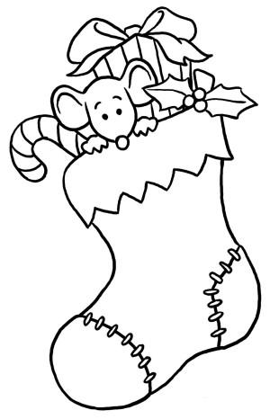 Dibujos De Papa Noel Para Colorear. Pap Noel En Trineo Por Dibujos ...