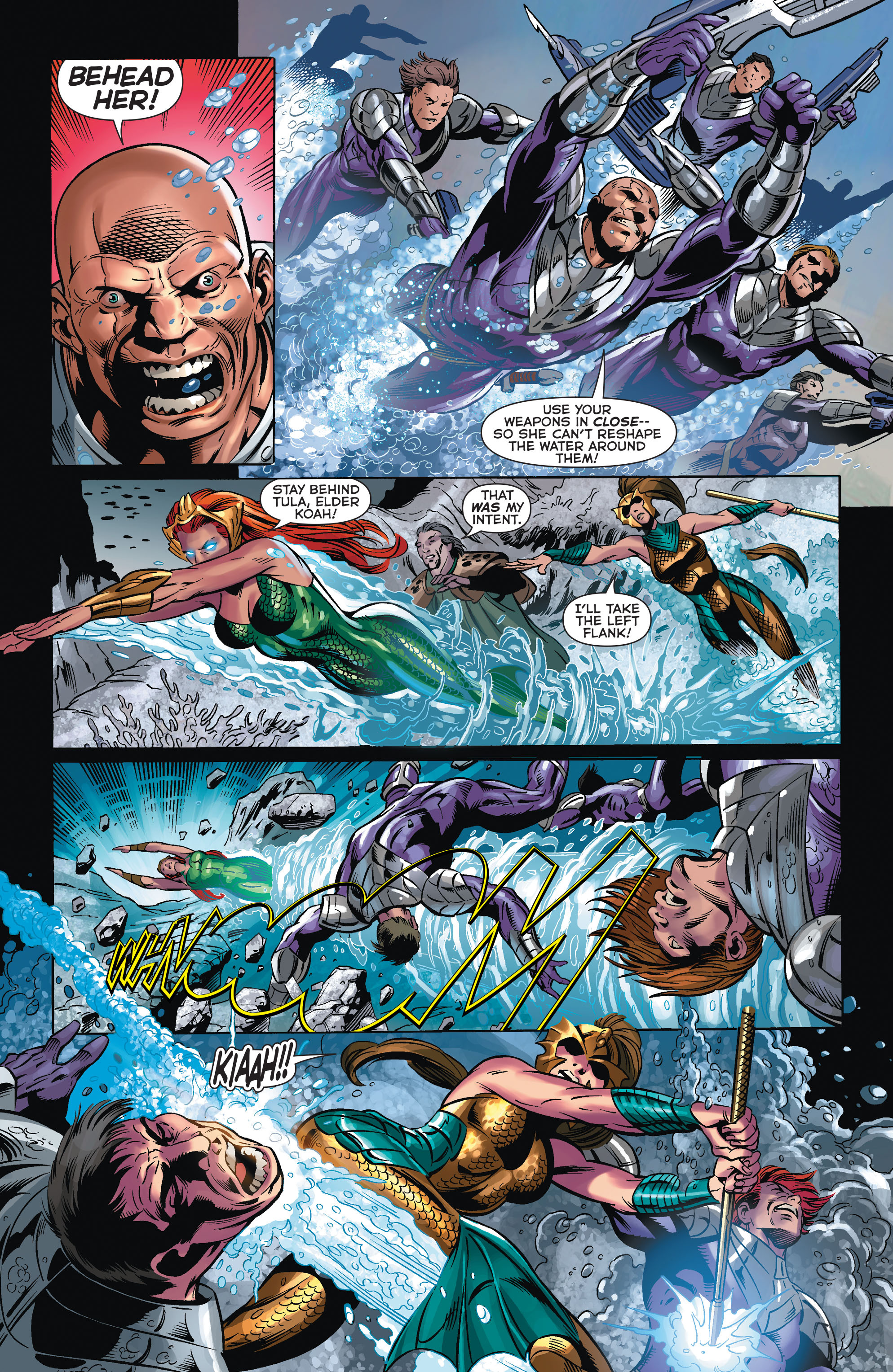 Read online Aquaman (2011) comic -  Issue #32 - 11