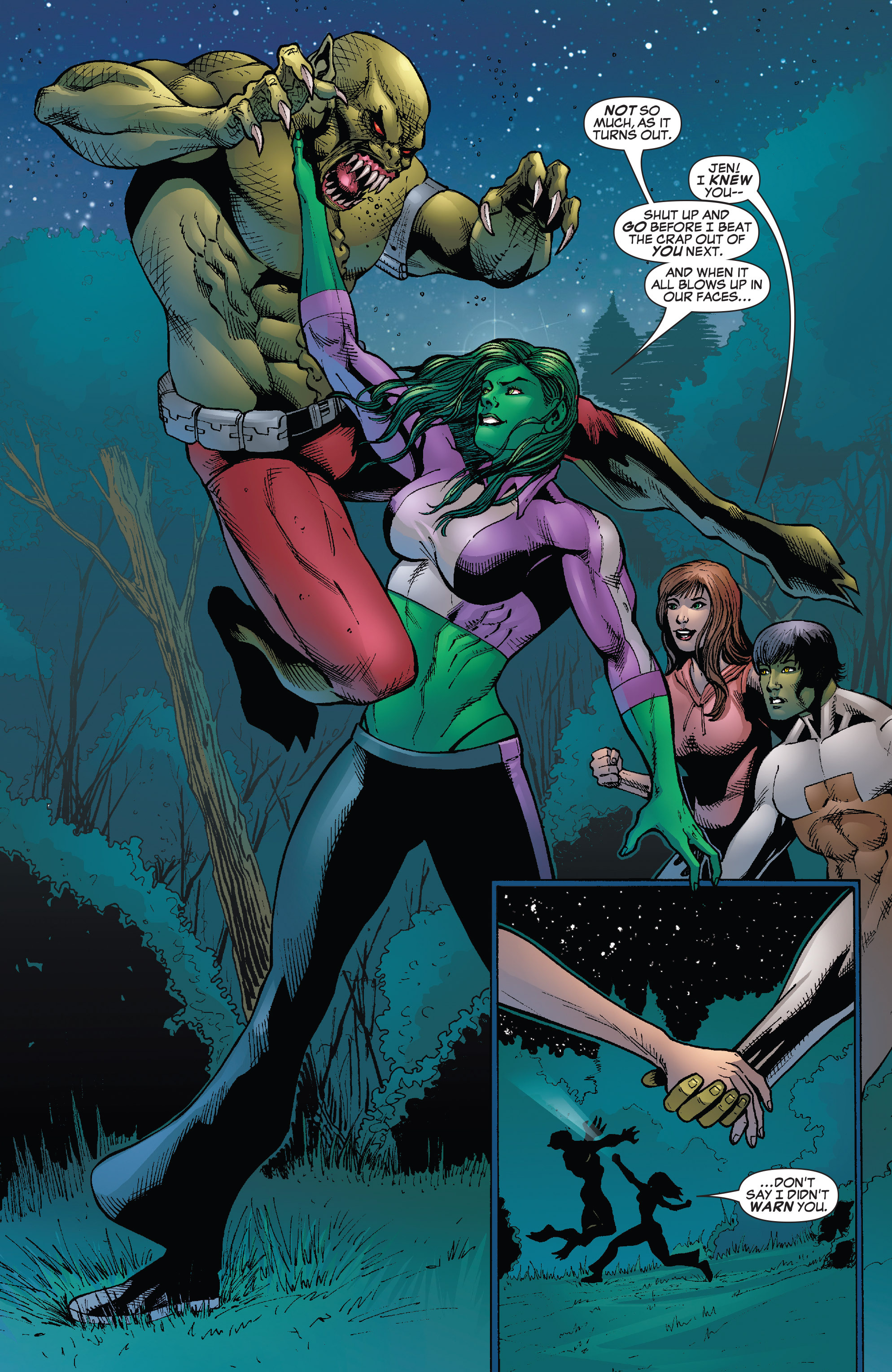 Read online She-Hulk (2005) comic -  Issue #25 - 22