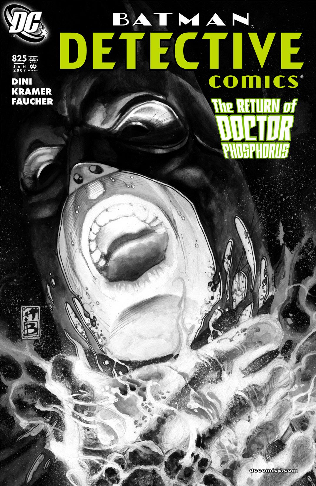 Detective Comics (1937) 825 Page 1