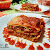 Lasaña de atún y pimientos con mozzarella (sin bechamel)