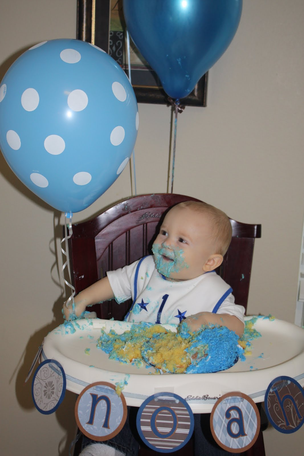 The Thornton News Noah S 1st Birthday Party Cookie Monster
