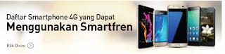 daftar hp suport smartfren