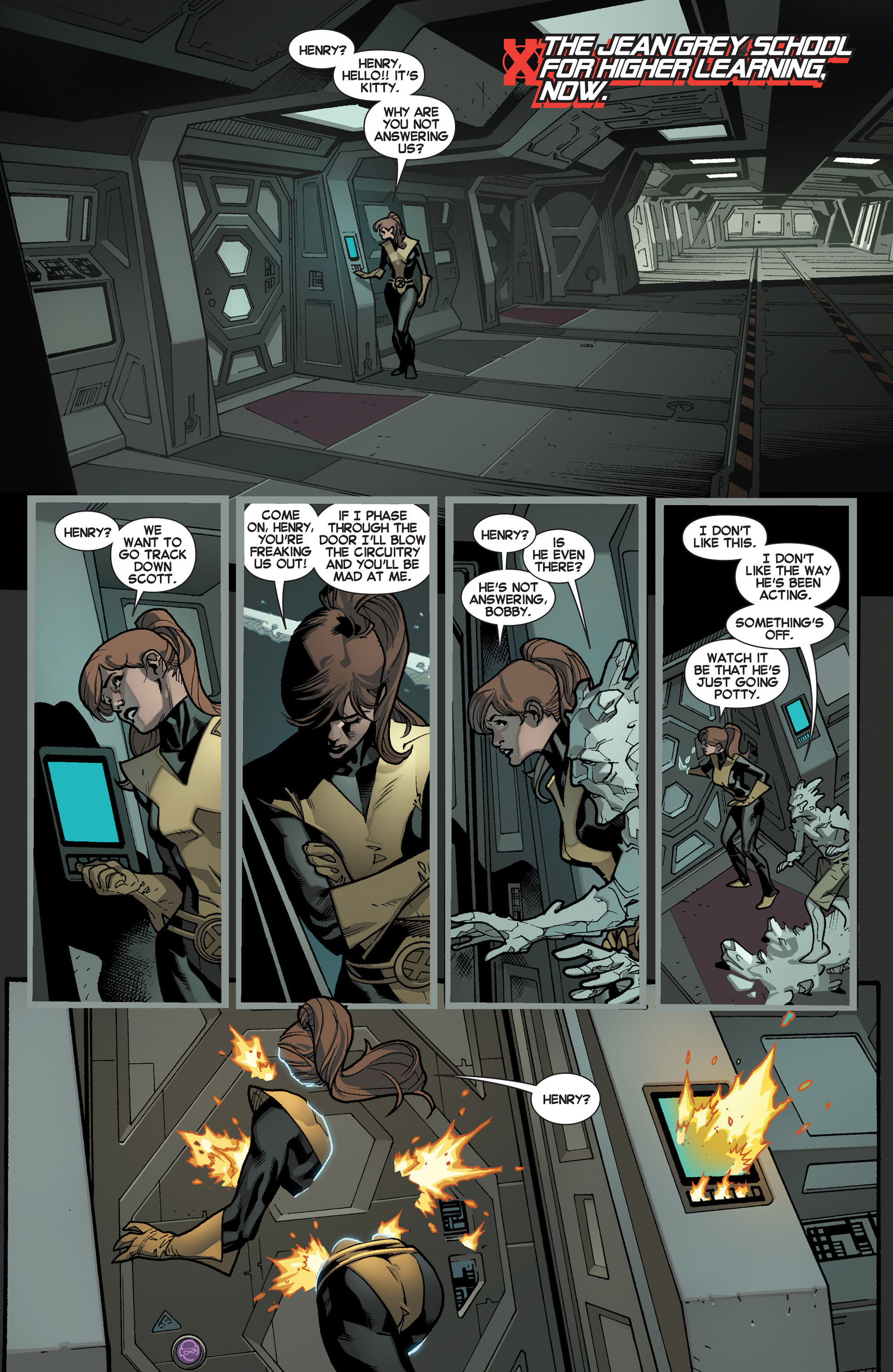 Read online All-New X-Men (2013) comic -  Issue #2 - 3