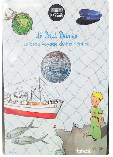 Pièce en argent à 10 euros  Le beau voyage du Petit Prince de la monnaie de Paris