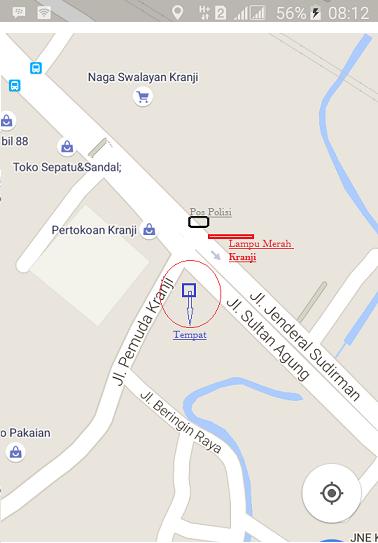 Alamat Lowongan Kerja JL. Jendral Sudirman no.664 kranji, bekasi barat (LPK)