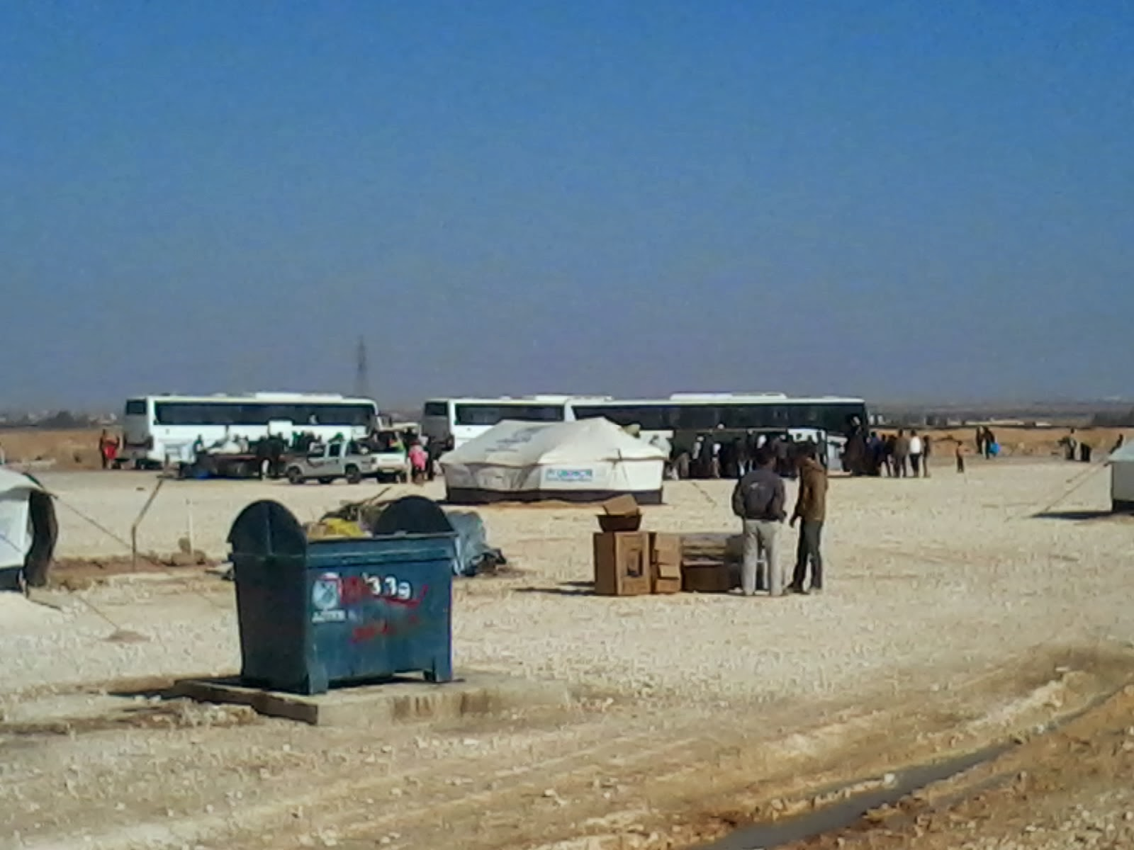 Zaatari camp tragedy Syria does not Tnety
