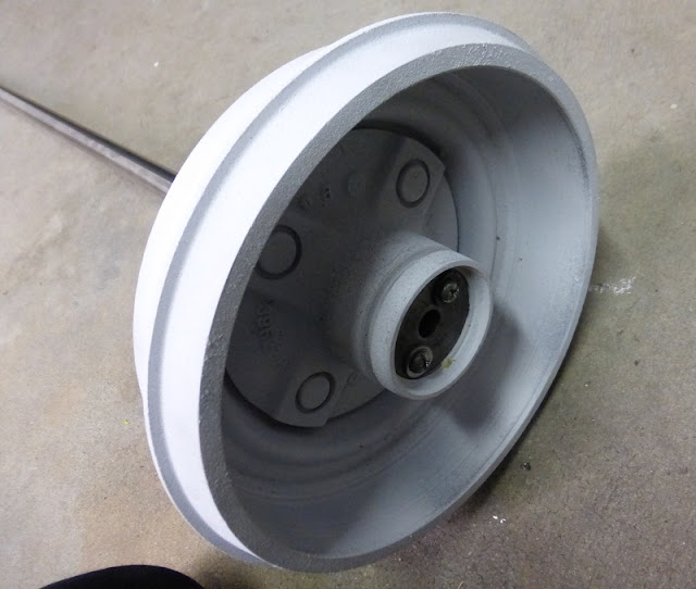 hub with hardware attached