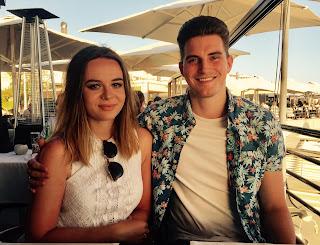 Tenerife, couple, restaurant