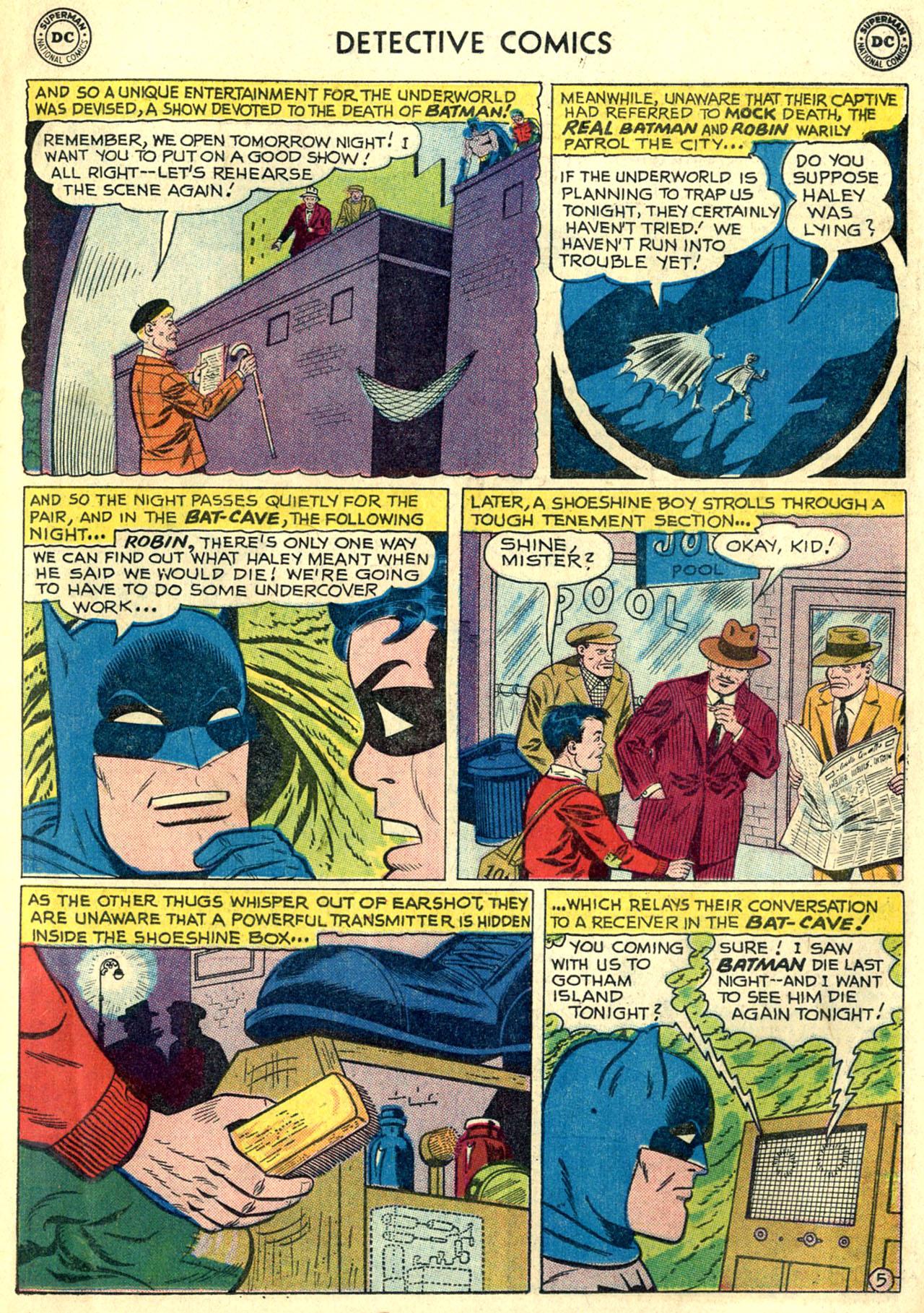 Detective Comics (1937) 269 Page 6