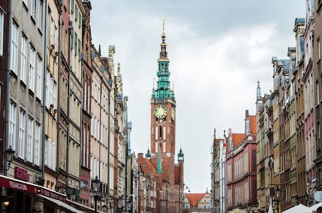 Gdańsk, Polska, Długa, Poland