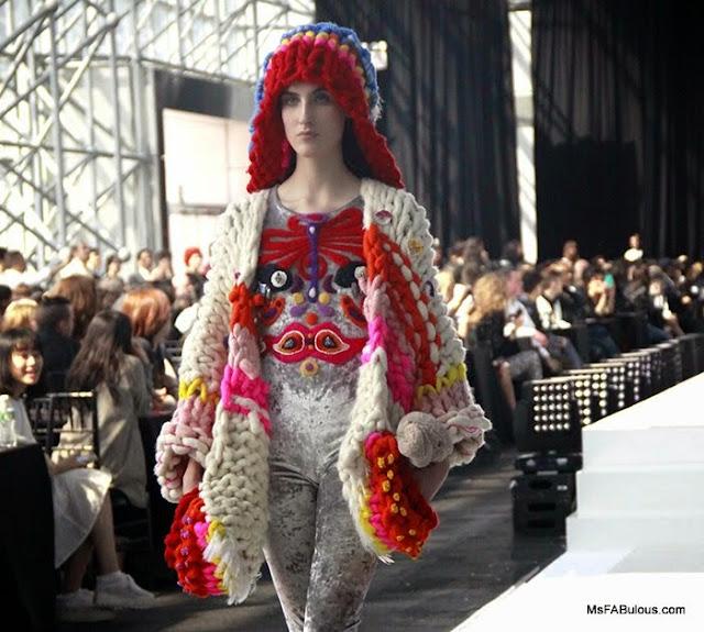 parsons fashion show