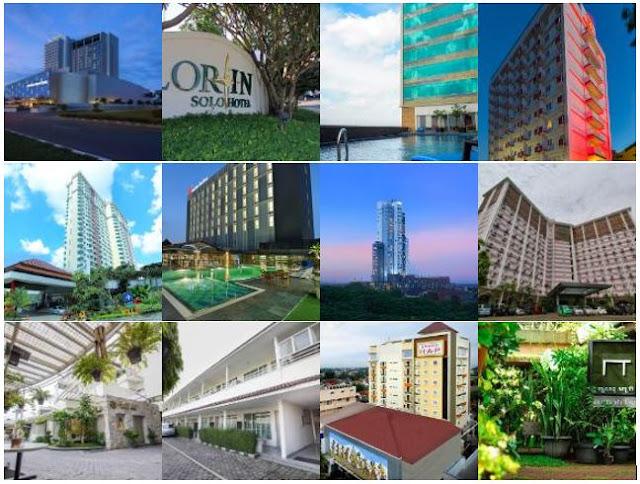 Daftar Hotel Murah dan Berbintang di Solo Surakarta
