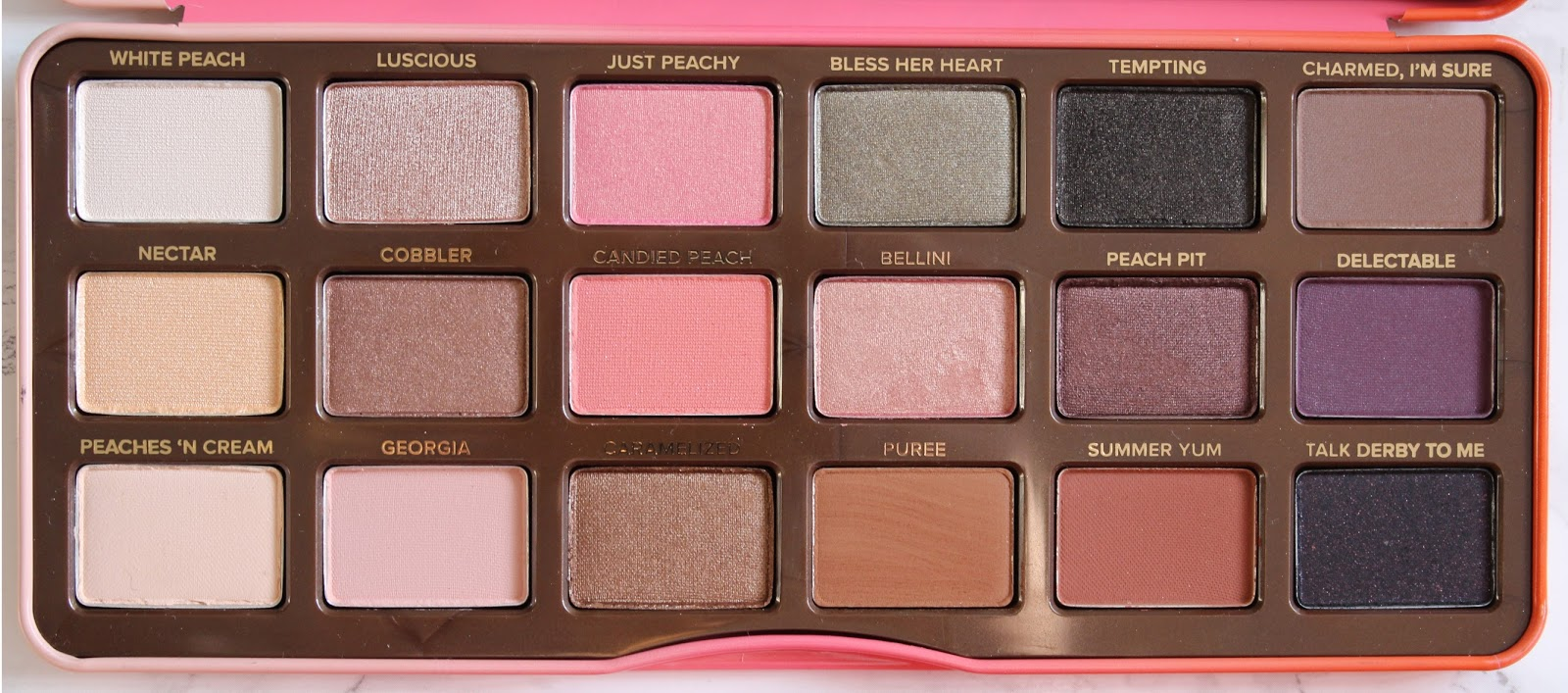 Too Faced's Sweet Peach Eyeshadow Palette