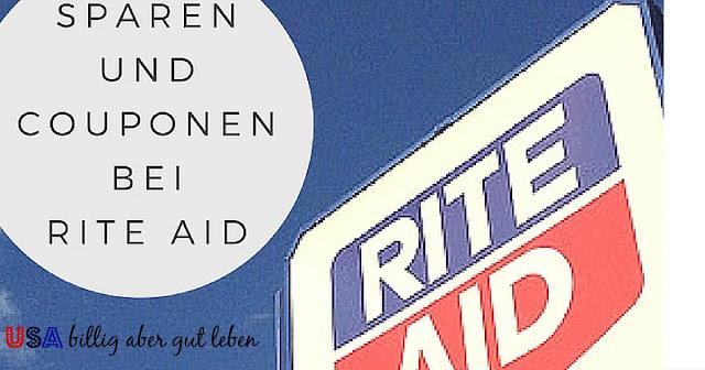 Wie spart man bei Rite Aid