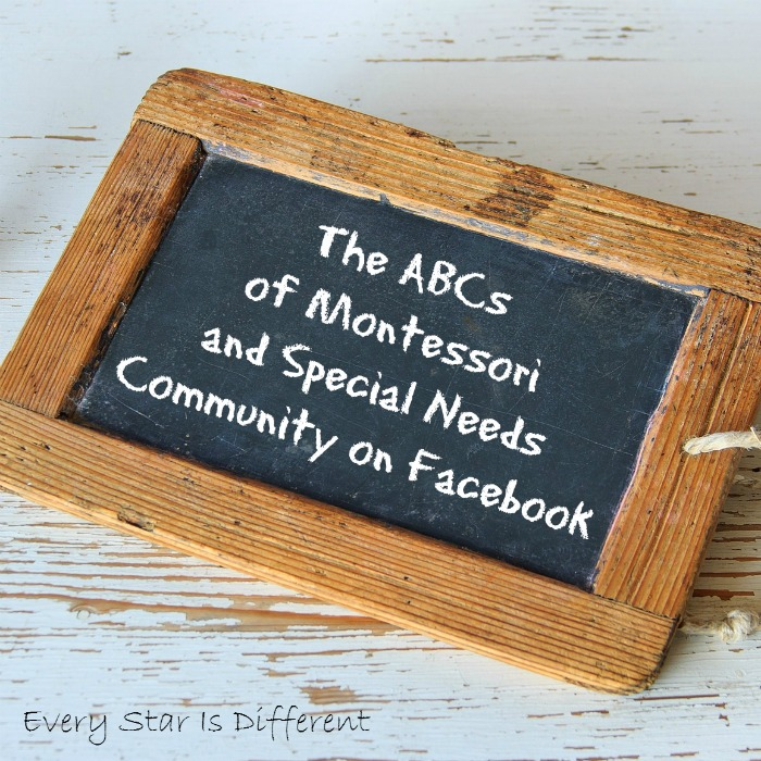 Montessori and Special Needs Facebook Community