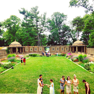 Newly renovated Italian Garden at Castle Hill, Crane Estate, Ipswich MA