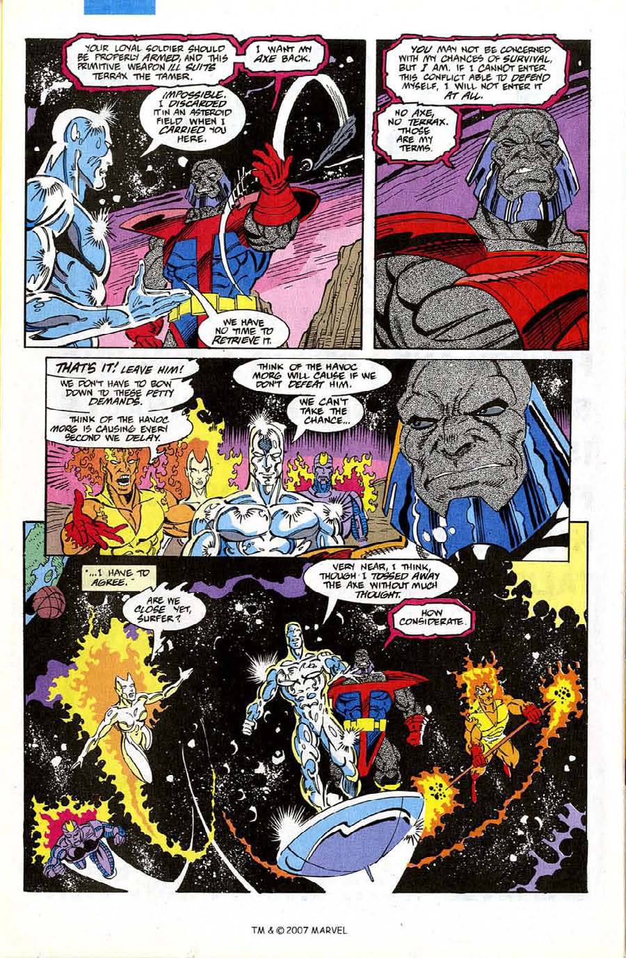 Read online Silver Surfer (1987) comic -  Issue #74 - 26