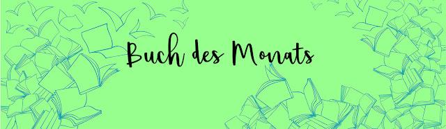 Banner zu Buch des Monats - monatliche Lesehighlights werden hier präsenteiert
