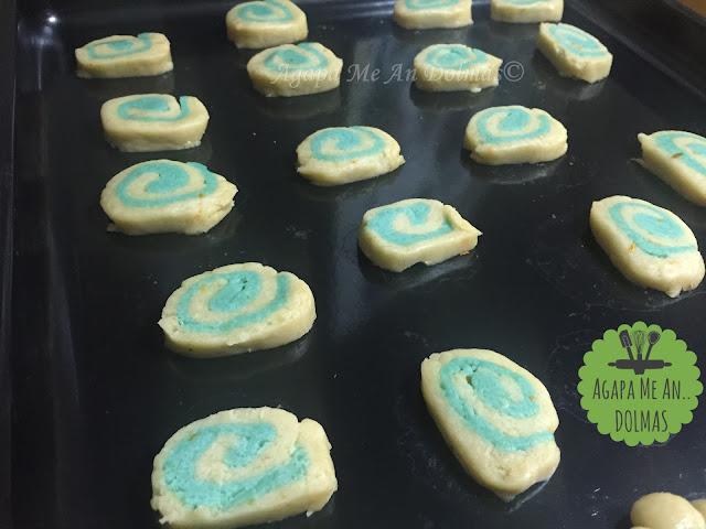 μπισκότα σπιράλ