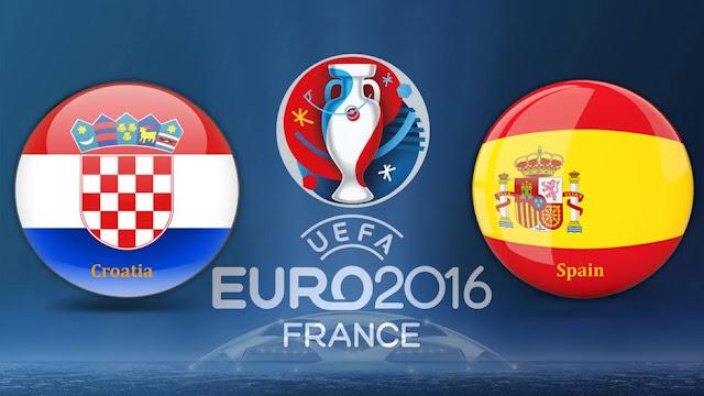 LIVE SCORE EURO: Hasil Kroasia vs Spanyol Prediksi Skor dan Jadwal Piala Eropa 2016 RCTI